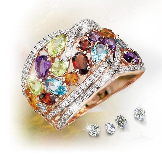 78d72c64672f Anillo ALLEGRIA  104 Diamantes