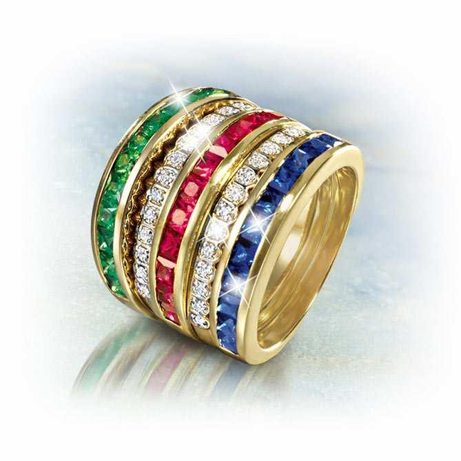 5a499061c092 Anillo de oro y diamantes Infinity
