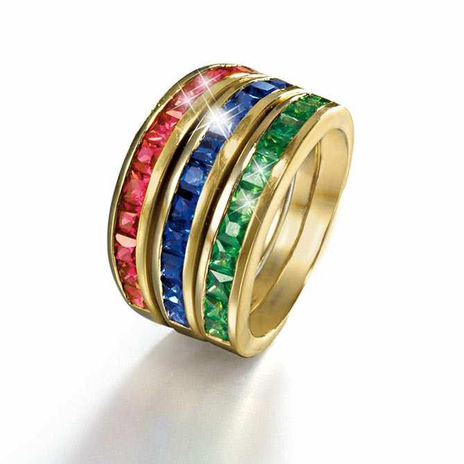 Anillo de oro y diamantes infinity galer a del coleccionista for Galeria del coleccionista vajillas