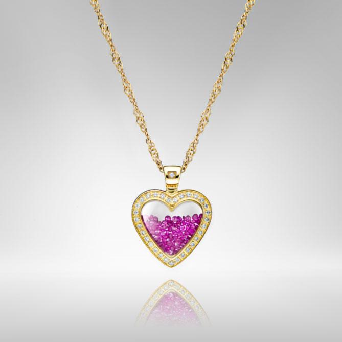 04e9ea167821 COLGANTE CORAZÓN DE RUBÍ  1 diamante