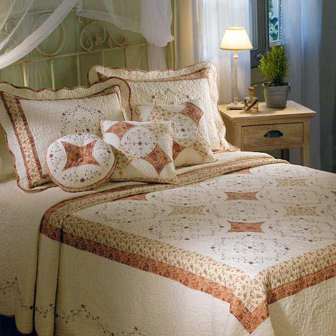Conjunto de cama maison provenc al galer a del coleccionista for Galeria del coleccionista vajillas