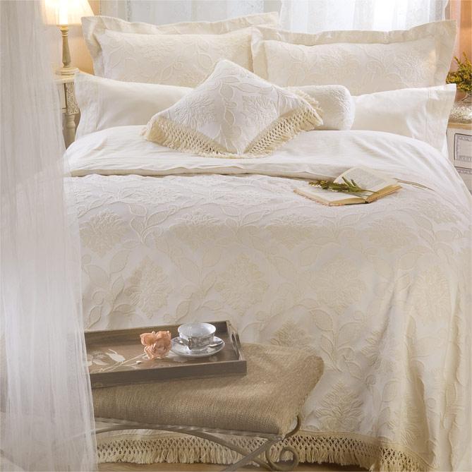 2573a93d2 Conjunto de cama ESTORIL  2 Cojines cuadrados cabeceros  50 x 70 + 5 cm