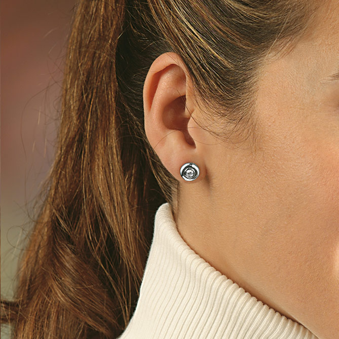 Pendientes de perlas, oro y diamantes Reales: medio quilate diamantes
