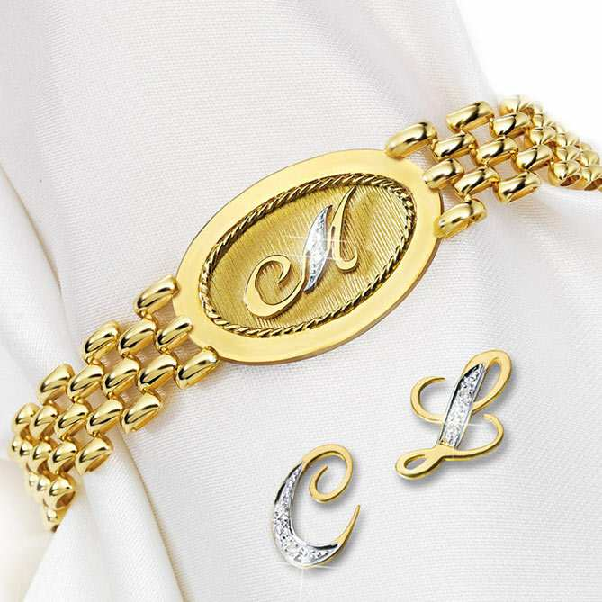 Pulsera de Oro y Diamantes Essential: Diamantes
