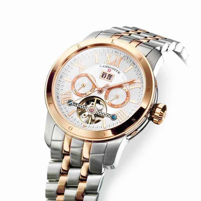 3e2b9cd21f25 Reloj automático en Acero y Oro rosa