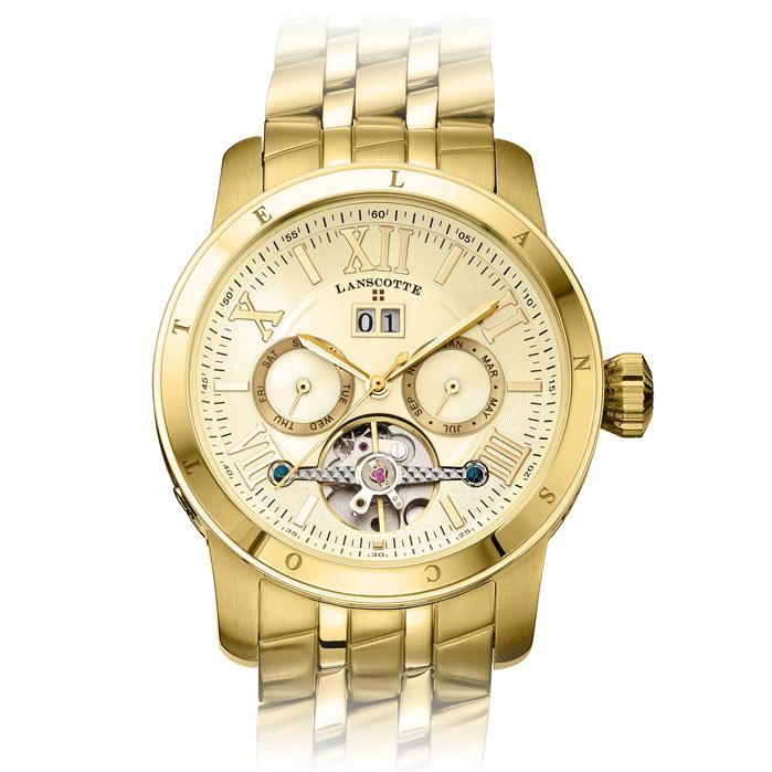Reloj Automatico Con Mecanismo A La Vista Excelsior