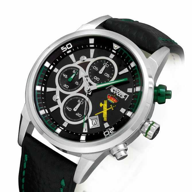 6f118377643a Reloj de acero Homenaje a la Guardia Civil  Caja realizada en acero 316L S