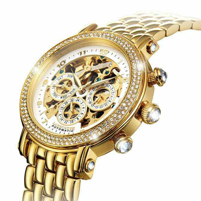 Reloj Joya de oro para mujer Infinity | Galería del