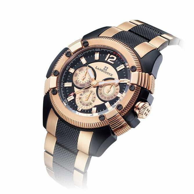 33d37332fc4d Reloj de oro rosa Nexus  Acero de alta calidad acabado en Oro rosa