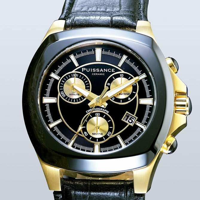 Cronómetro Acero Del Y Reloj Cerámica PuissanceGalería De m8nOv0Nw