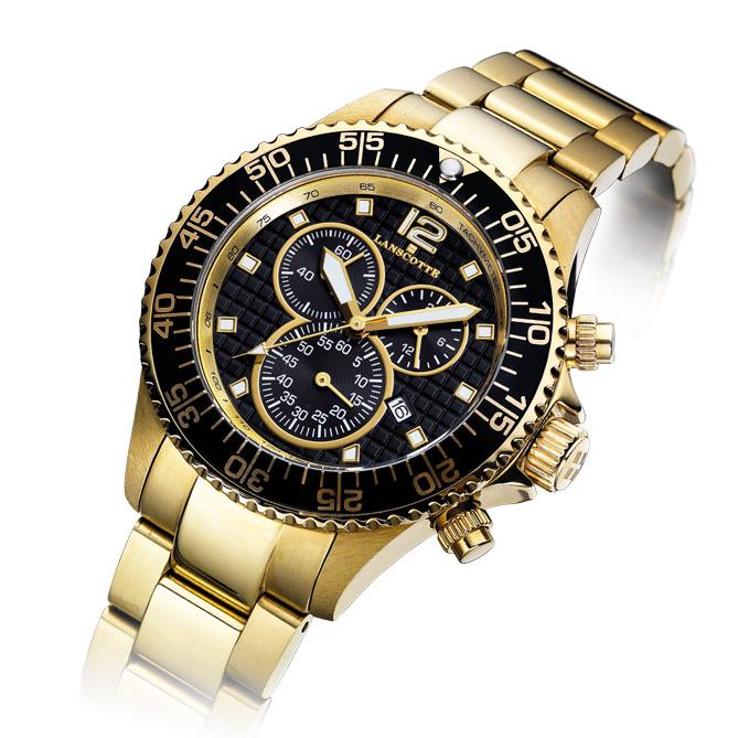 5838e1671abe Reloj de hombre clásico de oro