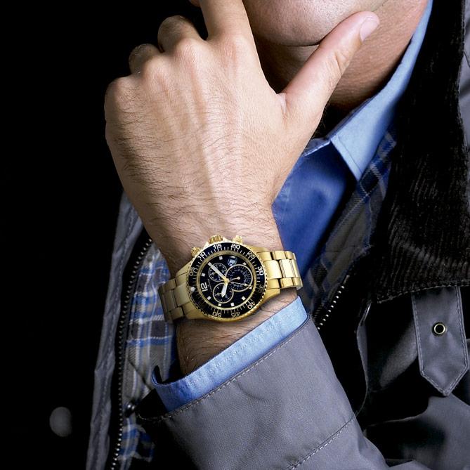 Reloj de hombre cl sico de oro symbol galer a del for Galeria del coleccionista vajillas