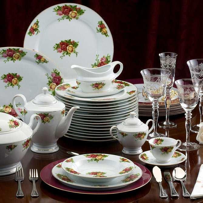 Vajilla porcelana inglesa galer a del coleccionista for Galeria del coleccionista vajillas