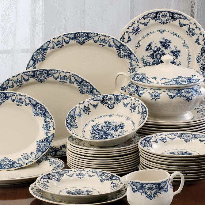 Conjunto de mesa palacio de triana galer a del coleccionista for Galeria del coleccionista vajillas